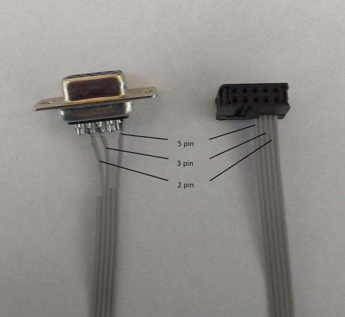 Распайка кабеля для ПУ-15